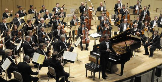 The Dresden Staatskapelle, which was founded in 1548, performed in Symphony Hall on Wednesday night.