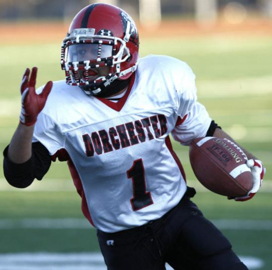 DeJon Berment ended his high school career in style, rushing for 188 yards and three touchdowns against Madison Park.