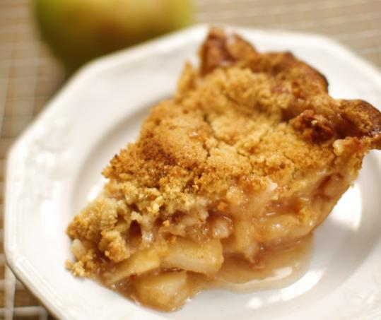 Apple crumb pie - The Boston Globe