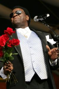 Al Green performing in New Orleans earlier this year.