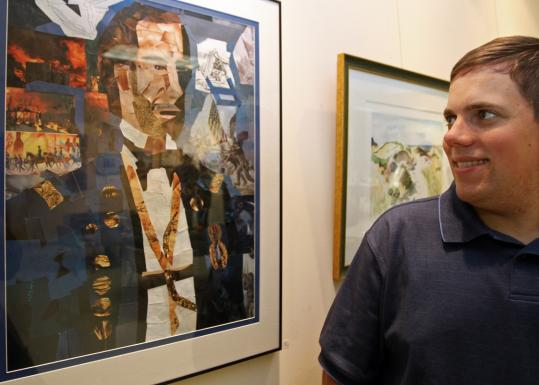 Artist John Williams's ''Face of Ambiguity/General Sherman'' is featured in the Perspectives exhibit, a collaboration between ArcWorks and the Asperger's Association of New England.