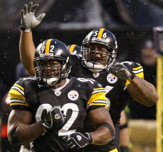 James Harrison (92) and the Steelers haven't allowed an opponent to gain more than 300 yards of offense this season.
