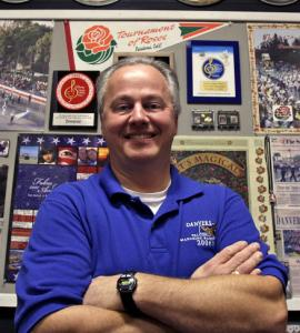 Band director Ron Parsons is planning another New Year's trip.