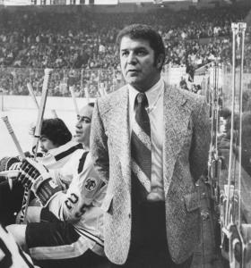 Bep Guidolin coached the Boston Bruins in the early 1970s.