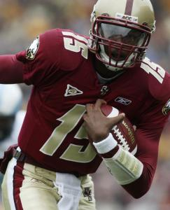 Dominique Davis's TD run gave BC the win over Wake Forest.