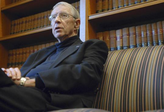 Josh Reynolds/Associated PressJustice John Greaney, the longest-serving member of the state Supreme Judicial Court, retires today.