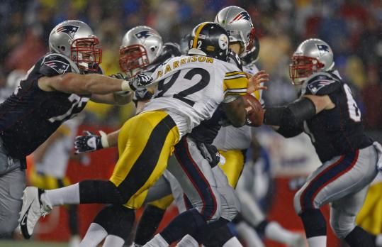 James Harrison, Steelers vs. Patriots, Steelers Patriots AFC Championship