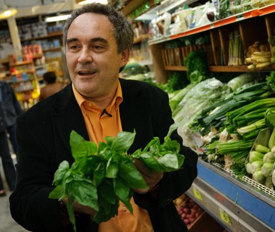 Ferran Adria, the pioneering Spanish chef, likes to stir things up.