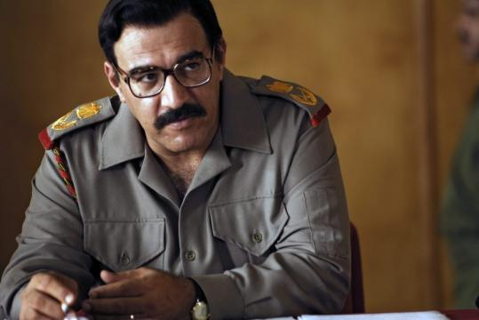 Igal Naor plays Iraqi dictator Saddam Hussein in HBO's ''House of Saddam.''