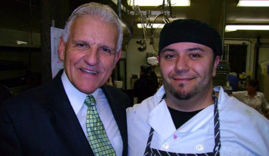 Crane Brook Restaurant owner Don McKeag and new chef Don Santos have much to smile about.
