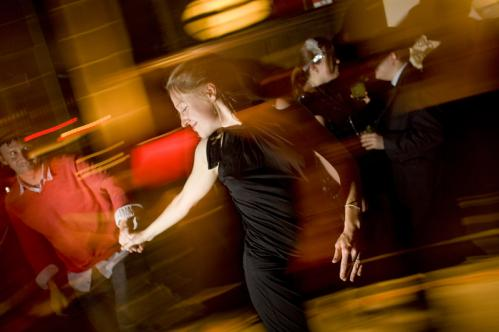 Kim and Ryan Eckel of Jamaica Plain tried to remember some swing dancing lessons the couple took 10 years ago at the party. More info on Eastern Standard SUBMIT Your nightlife photos! TALK What scene should we visit next?