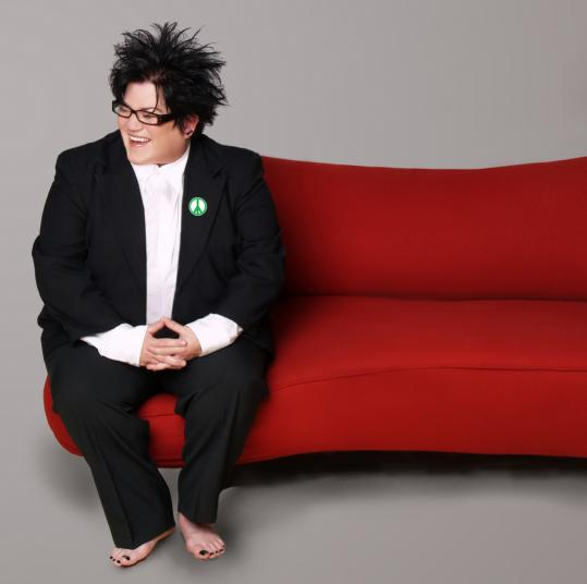 ''It's not going to be a fuzzy, warm show,'' Lea DeLaria says of the Christmas cabaret act that she's bringing to Boston.