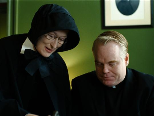 Meryl Streep and Philip Seymour Hoffman star in ''Doubt,'' based on the award-winning play.