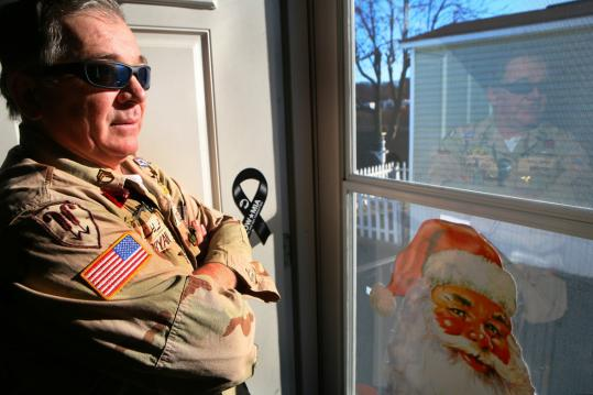 Ed Bryan of Malden was sent to the Persian Gulf by the Army in 1990. After he returned, he had chronic diarrhea, which led to a stomach operation. He still has headaches and diarrhea.