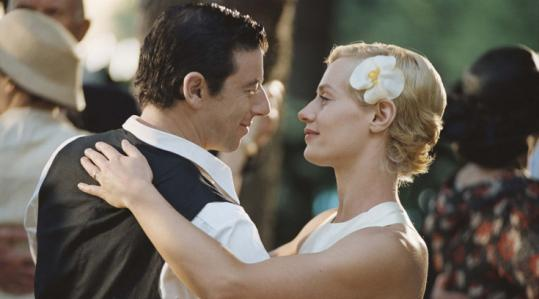Patrick Bruel and Cecile De France in ''A Secret.''
