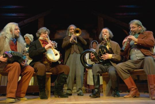trombonist bruce randall joins the mellstock band for a tune in the christmas revels - The Christmas Revels