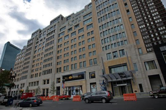 Ten condos are on the market at Boston's Mandarin Oriental. None are selling for less than original purchase price.