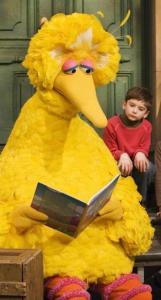 Big Bird, one of Jim Henson's Muppets that made ''Sesame Street'' a hit.