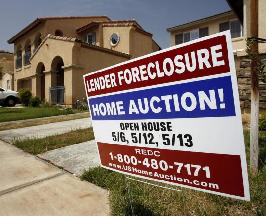 Foreclosure in Perris, Calif., 2007. The essays in ''Panic'' deal with the subprime mortgage disaster and other crises.
