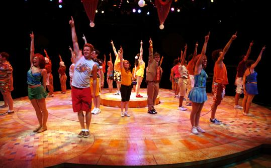 In ''High School Musical 2'' at the North Shore Music Theatre, the principal actors have returned to reanimate their parts.