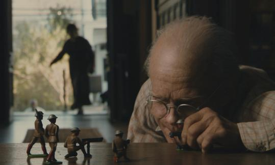 Brad Pitt plays Benjamin Button, a man who ages in reverse, in a film directed by David Fincher.