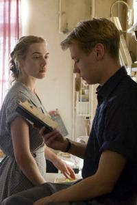 Kate Winslet and David Kross star in ''The Reader,'' based on Bernhard Schlink's novel about the hidden past of a former Nazi guard.