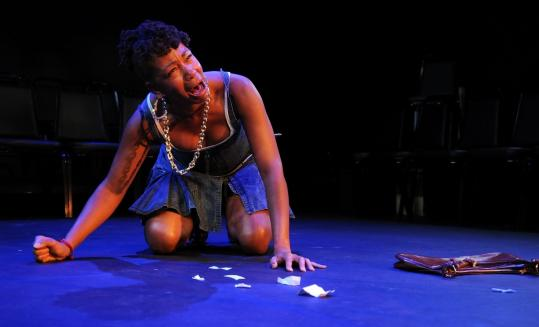 Ramona Alexander in the Up You Mighty Race Company production of ''In the Continuum.''