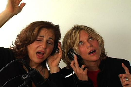 From left: Kathy Najimy and Meg Ryan.