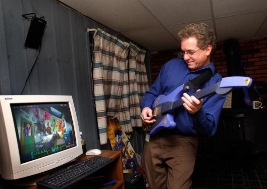 ''It could have been our product,'' says Mike Fritz, who helped develop a forerunner to Guitar Hero.