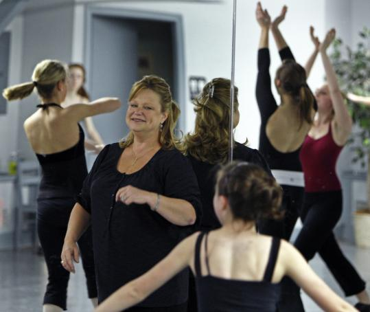 Robin Magee (above), owner of the West Concord Dance Academy since 1978, says her students have changed and are now involved in many more sports. But she says parents still want young girls to learn focus and poise through dance.