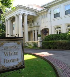 Portland's White House was built in 1911 as a lumber baron's summer house.