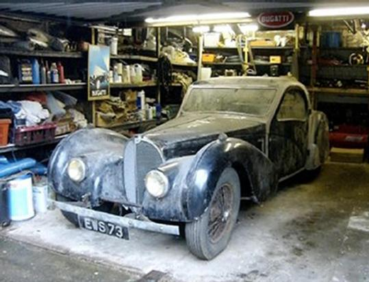 Rare U002737 Bugatti Found In Britain. This 1937 Bugatti Type 57S ...