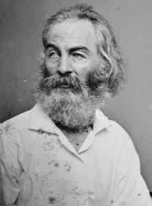 The poet was photographed by Mathew Brady around 1860, near the start of the Civil War.