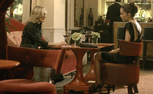 Glenn Close (left, with Rose Byrne) is back as power lawyer Patty Hewes in FX's ''Damages.''