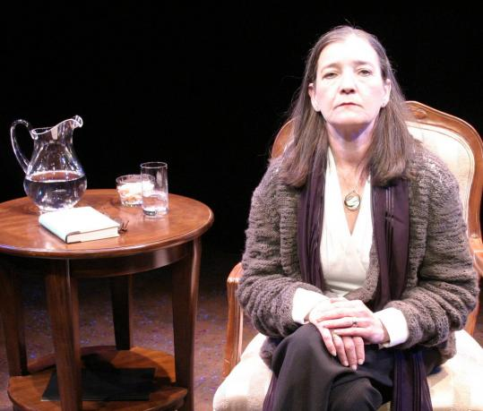 Nancy E. Carroll as Joan Didion in ''The Year of Magical Thinking'' at the Lyric Stage.