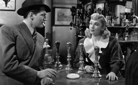 John McCallum and Googie Withers star in the 1947 film.