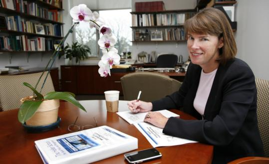 Newton resident Lisa Lynch is dean of the Heller School for Social Policy and Management at Brandeis University.