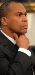 Governor Deval Patrick said that any gas tax hike should be high enough to avoid future sharp increases.
