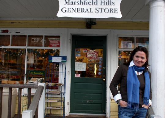 Tish Vivado of Marshfield will run the Marshfield Hills General Store, which has been purchased by her brother-in-law, actor Steve Carell.