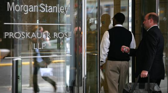 In a joint venture, Morgan Stanley will combine Citigroup's brokerage, Smith Barney, with its wealth management business.