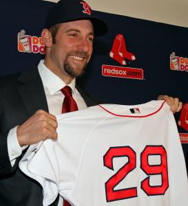The newest member of the Sox, John Smoltz, has the best postseason record in history - 15-4.
