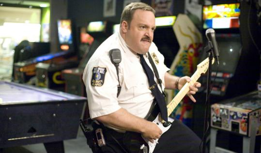Kevin James is the co-writer and star of ''Paul Blart: Mall Cop.''