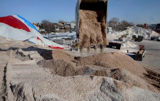 Eastern Salt of Chelsea, which recently merged with Eastern Minerals, has provided road salt to about 150 Massachusetts communities.