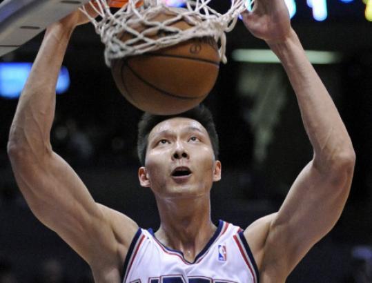 It's considered a slam dunk that Yi Jianlian will join Yao Ming as a star.