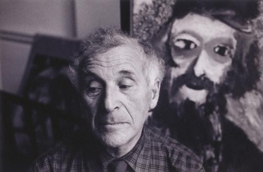 Chagall, 1957, photographed by Alexander Liberman. ''He developed a radical, original style,'' writes Wullschlager.
