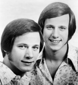 Jon Hager (right) in a cast photo with his twin, Jim.