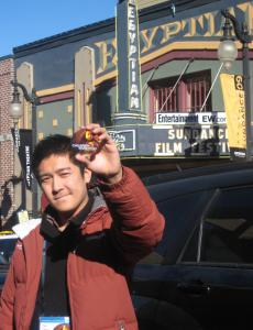 Tze Chun is at Sundance screening ''Children of Invention,'' which features Boston-area scenes.