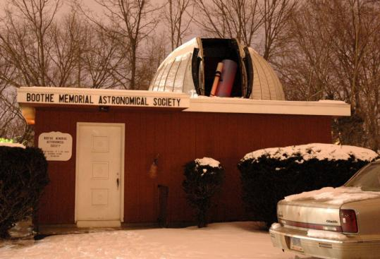 Private groups built Boothe Memorial Astronomical Society Observatory in Connecticut and Maine's Starfield Observatory.