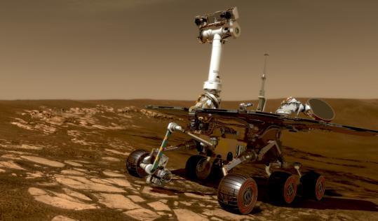 'Roving Mars'
