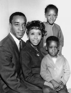 Don Cheadle (far right) and family, in Henry Louis Gates's new book.
